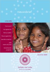 Nieuwsbrief 12-2020, Solidair met India